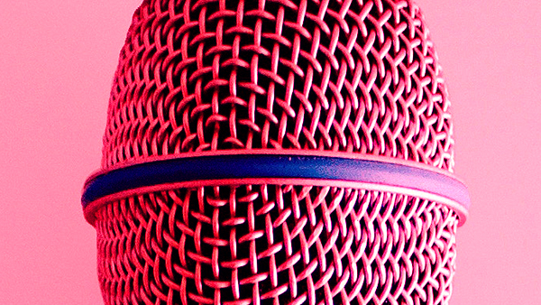 mic - a close up of a microphone